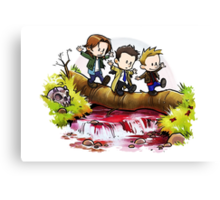 Team Free Will Goes Exploring Canvas Print