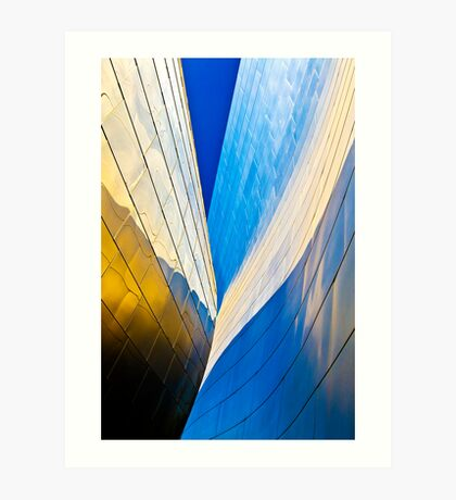 Contours of the Concert Hall Art Print