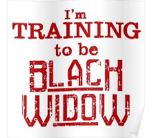 Become Black Widow Poster