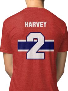 Doug Harvey #2 - red jersey Tri-blend T-Shirt