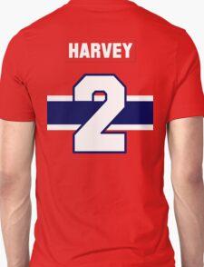 Doug Harvey #2 - red jersey T-Shirt