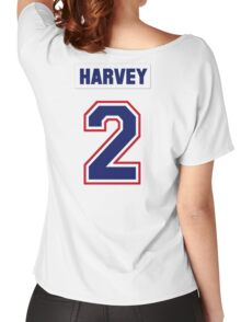 Doug Harvey #2 - white jersey Women's Relaxed Fit T-Shirt