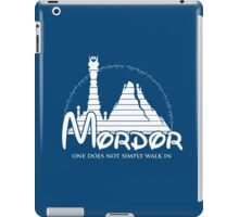 Disney Mordor iPad Case/Skin