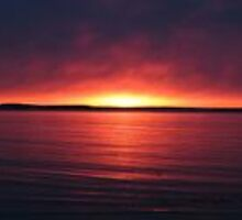 Daybreak, Penobscot Bay by Dara Hurt