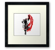 Traditional Fighter Framed Print