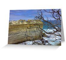 Loch ard Gorge Australia Greeting Card