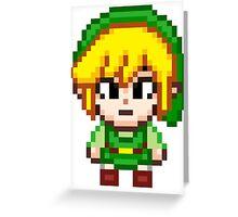 Toon Link - Smash Bros Mini Pixel Greeting Card