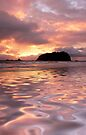 Maunganui pink by Ken Wright