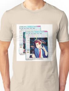 Hesitant Alien- flower crown Unisex T-Shirt
