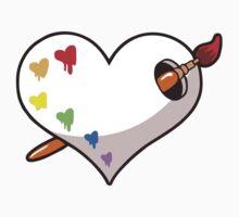 Heart Palette Kids Tee