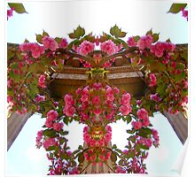 My Fantasy Flower Column Poster