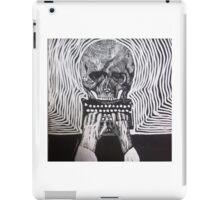 Underwood, skull, vintage typewriter iPad Case/Skin