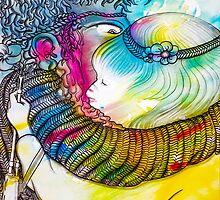 Interpretation #85 - World peace and love, please... by Ignacio Marino Larrique
