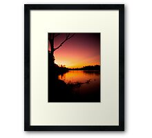 Night Comes Framed Print