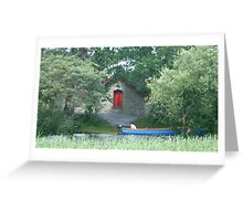 Boat House in Killarney Greeting Card