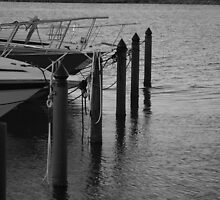Parked boats 2 by CaitlinM