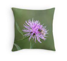 Autumn Flower Throw Pillow