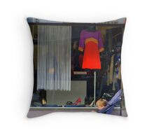 Waiting.. Throw Pillow