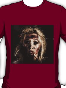 Evil Dead Female Zombie With Monster Headache T-Shirt