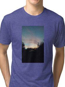 Florida Sunset 3 Tri-blend T-Shirt