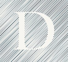 Striped D by DLUTEDDESIGN
