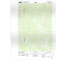 Maine USGS Historical Map Bean Pot Pond 20110906 TM Poster