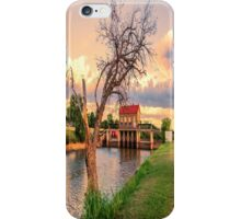The Tree on the Dam iPhone Case/Skin
