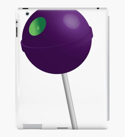 Death Star Lollipop (Purple) iPad Case/Skin