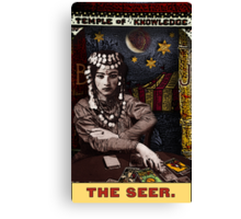 The Seer: from the Tarot of the Zirkus Mägi Canvas Print