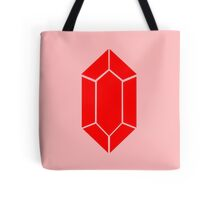 Red Rupee Zelda Video Game Coin Tote Bag