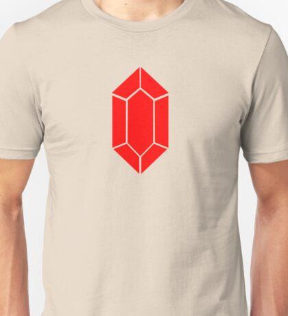 Red Rupee Zelda Video Game Coin Unisex T-Shirt