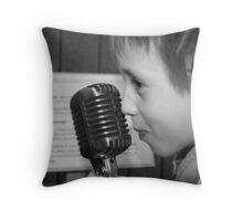 REDREAMING SINGER Throw Pillow