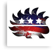 Libertarian Porcupine Canvas Print