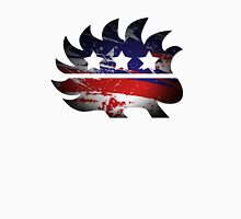 Libertarian Porcupine Men's Baseball ¾ T-Shirt