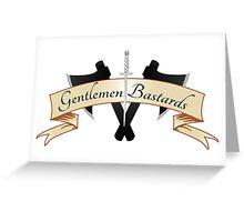Gentlemen Bastards Greeting Card