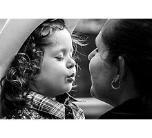 Blow me a Baby Cowgirl Kiss Photographic Print
