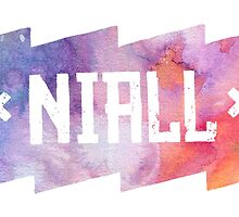 One Direction In Colors - Niall Horan by YOSHFRIDAY