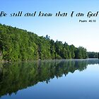 Be Still by Scripturesque