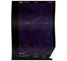 Maine USGS Historical Map Beaver Pond SE 20110906 TM Inversion Poster