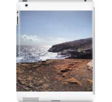A Peaceful Drive Around Hawaii iPad Case/Skin