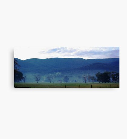 Panormaic view near Yarra Junction Canvas Print