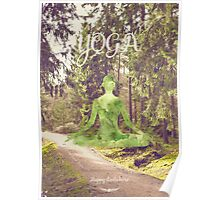 Yoga Forest Book Poster