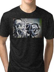 Twilight Zone Eye of the Beholder Rod Serling CBS TV Show Tri-blend T-Shirt