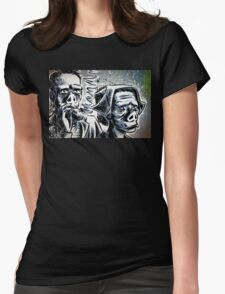Twilight Zone Eye of the Beholder Rod Serling CBS TV Show Womens Fitted T-Shirt