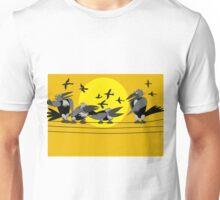 Funny birds Unisex T-Shirt