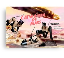 Catwomen of Mars Canvas Print