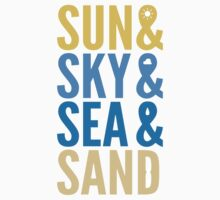 Sun Sky Sea And Sand Kids Clothes