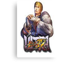 ultra street fighter cody Canvas Print