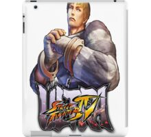 ultra street fighter cody iPad Case/Skin