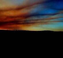 Country Town Sunset #3 by GerryMac